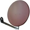 VIP Sat-Antenne 100 cm Steel ziegelrot
